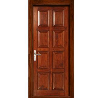 Утепленные двери с филенками